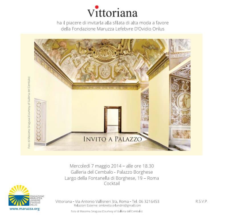 """Featured image for """"Sfilata Vittoriana per la Fondazione Maruzza"""""""