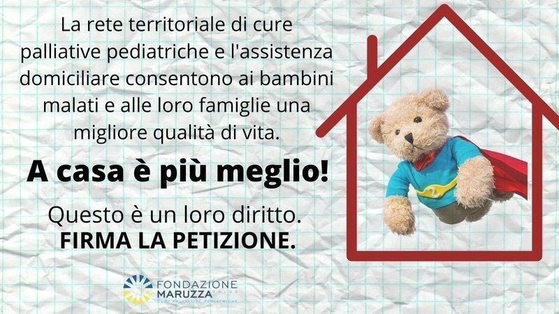 """Featured image for """"APPELLO URGENTE-CURE PALLIATIVE PEDIATRICHE: IN ITALIA SU 30MILA BAMBINI MALATI, SOLO 1.500 LE RICEVONO"""""""