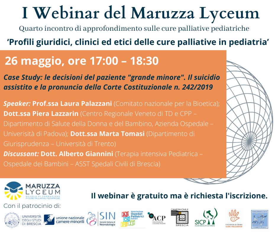 """Featured image for """"26 maggio 2021 – Iscriviti al quarto webinar del Maruzza Lyceum"""""""